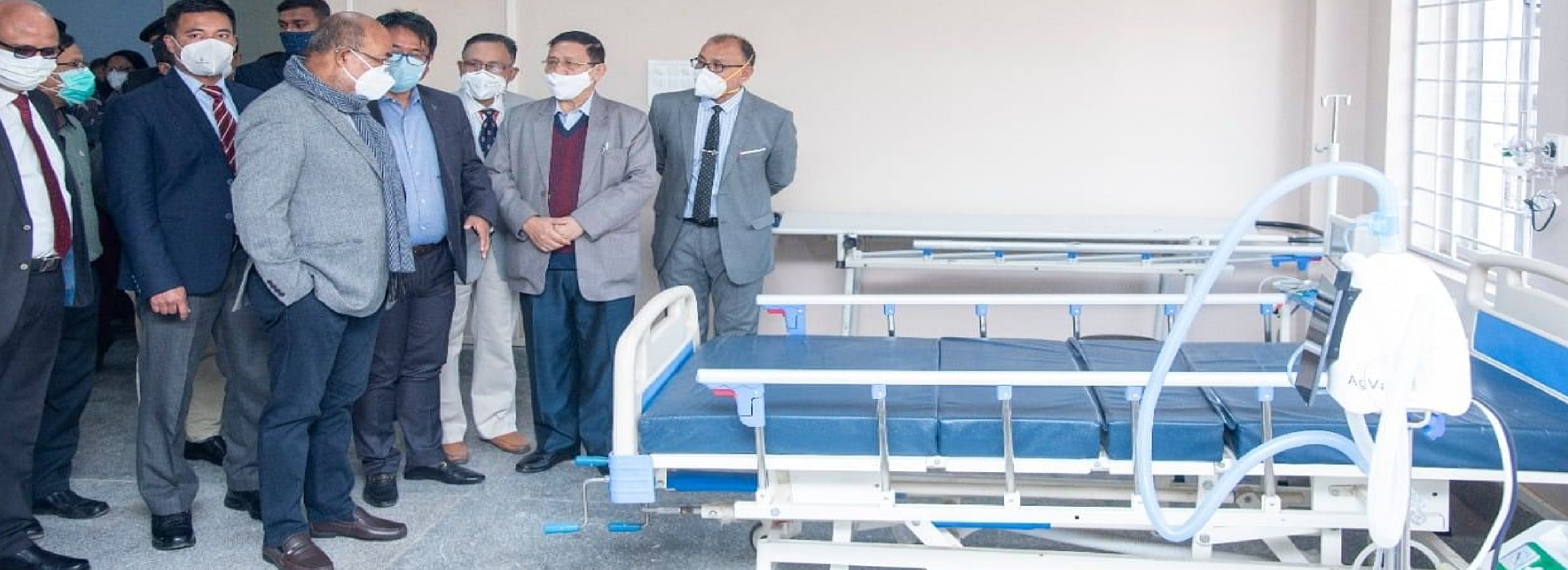 COVID-19 Care Centre Visited By N.Biren Singh , Chief Minister, Manipur